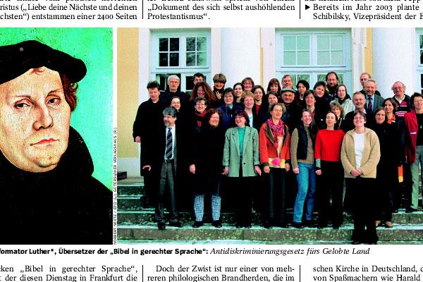 Der Spiegel 44/2006: Wortsalat im Garten Eden (Ausriss)