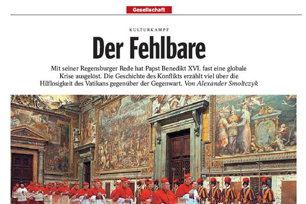 Der Spiegel 47/2006: Der Fehlbare