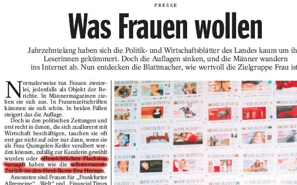 Der Spiegel 48/2006 (Ausriss)