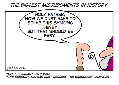 The Biggest Misjudgments In History - Part 1